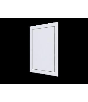 Люк-дверца ревизионный нажимной 318х418 с фланцем 296х396