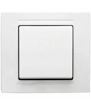 Gunsan Выключатель Moderna белый