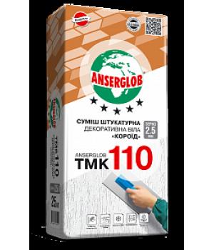 """Штукатурка Anserglob (Ансерглоб) TMK-110 """"Короед"""" 2,5мм, 25кг"""