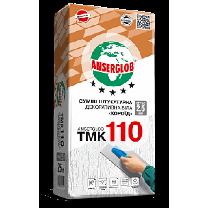 """Штукатурка Anserglob (Ансерглоб) TMK-110 """"Короед"""" 3,5мм, 25кг"""