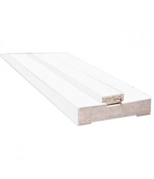 Короб дверной Новый Стиль МДФ белый (100*32)
