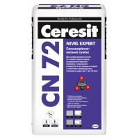 Самовыравнивающаяся смесь CERESIT CN 72 (25 кг)