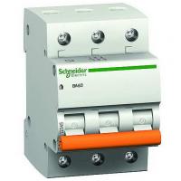 Выключатель автоматический Schneider ВА63 3П 16А С