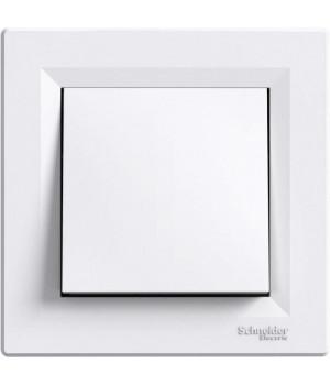 Выключатель 1-клавишный белый Schneider Asfora EPH0100121