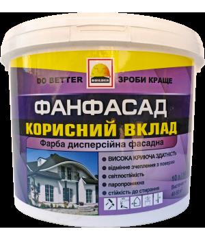Краска фасадная BUILDER ФАНФАСАД (7 кг)