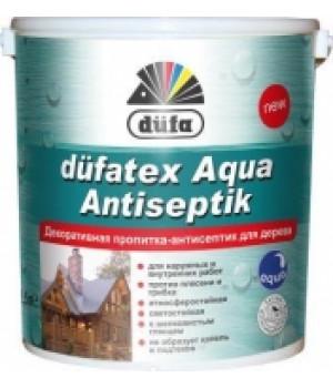 Декоративная пропитка – антисептик DUFA Aqua Antiseptik (белая) (10 л.)