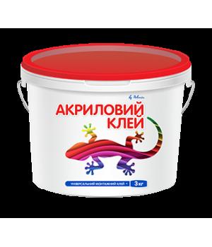 Клей акриловый универсальный Полимин (12 кг.)