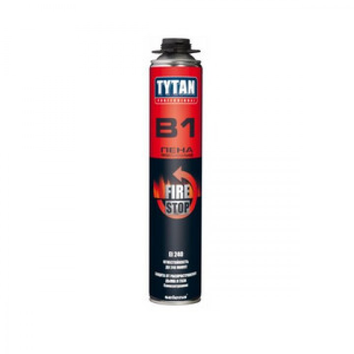 Пена проф. огнестойкая Tytan B1 (750 мл)