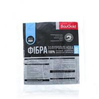 Волокно армирующее полипропиленовое Baugold (Бауголд) 12мм (0,6кг) (фибра)