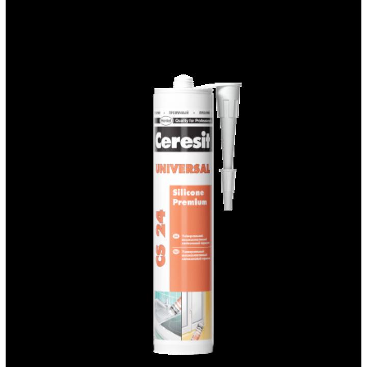 CERESIT CS-24 Герметик силиконовый прозрачный (280мл)