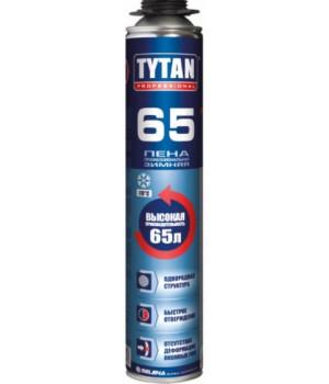 Пена монтажная проф. зимняя Tytan О2 65 (750 мл)