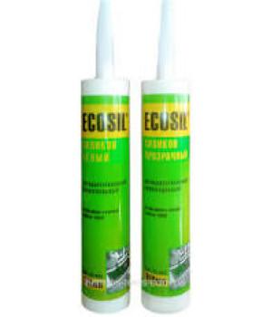 Ecosil Герметик силиконовый универсальный белый (300мл)