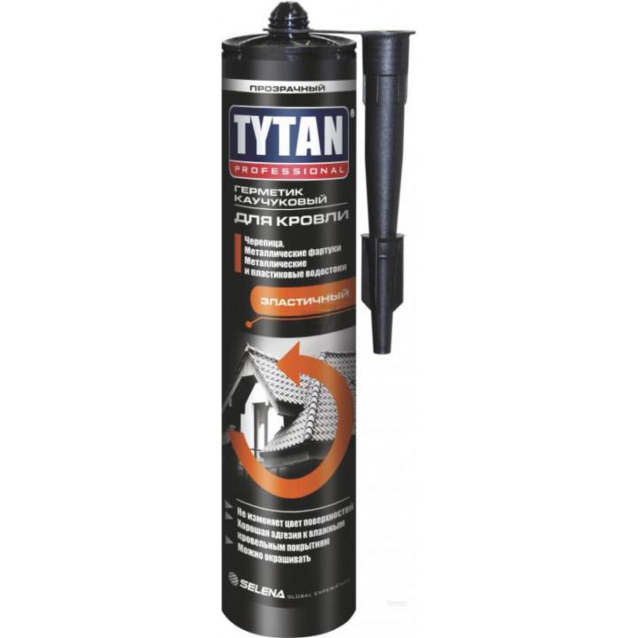 Герметик каучуковый кровельный Tytan Professional (310мл/черный)
