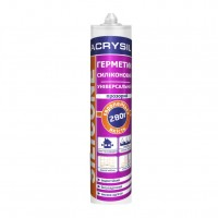 Герметик санитарный силиконовый прозрачный ЛАКРИСИЛ (Lacrysil) 280мл.