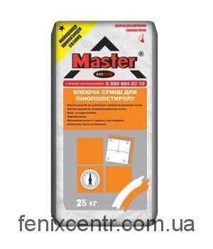 MASTER Exoterm Клей для теплоизоляции 25 кг