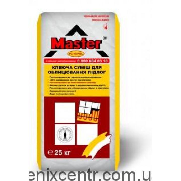 MASTER Plitopol Клей для плитки 25 кг