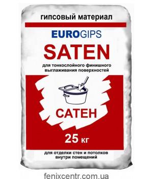 Шпатлевка EUROgips SATEN 25кг