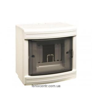 LUXEL Короб на 4 автомата (наружный)