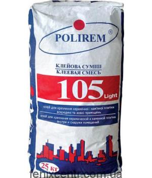 Клей для плитки POLIREM 105, 25кг