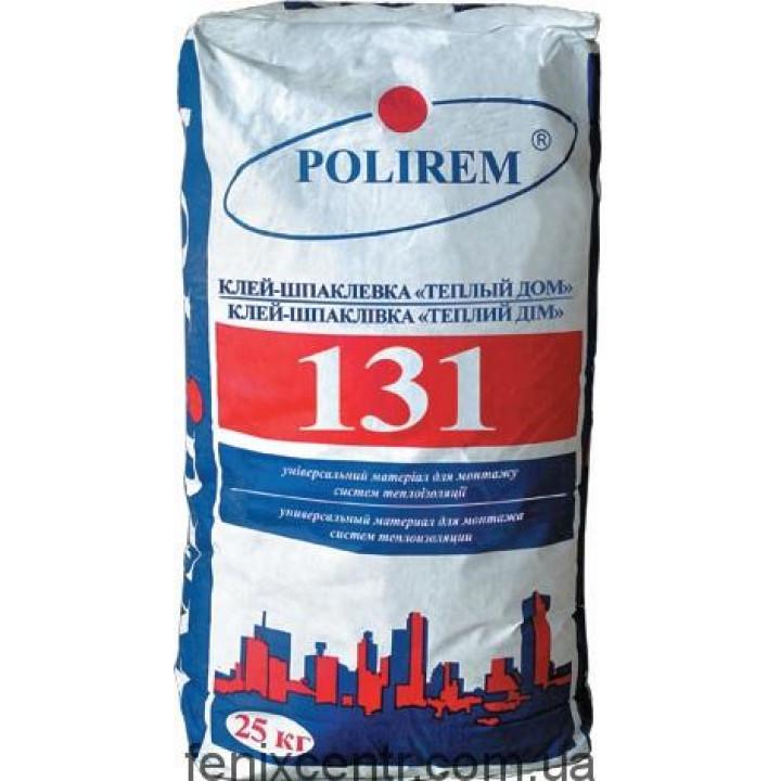 POLIREM 131L Клей для приклейки пенополистирольных плит, 25кг