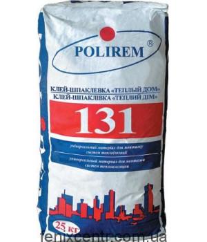 POLIREM 131W Универсальный клей для систем теплоизоляции , 25кг