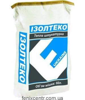 Изолтеко теплоизоляционная штукатурка 30л