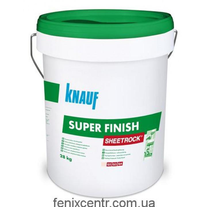 KNAUF (КНАУФ) Sheetrock Шпаклевка готовая акриловая финишная 28кг