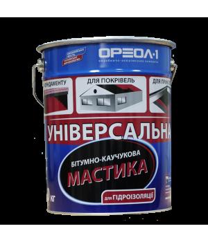 Мастика битумно-резиновая ОРЕОЛ-1 (3кг)