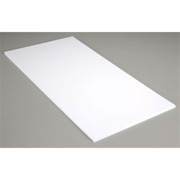 Пластик А02 белый лак 8мм (0,25*6м)