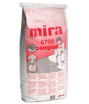 Самовыравнивающаяся смесь Mira 6700 cemplan (25 кг)