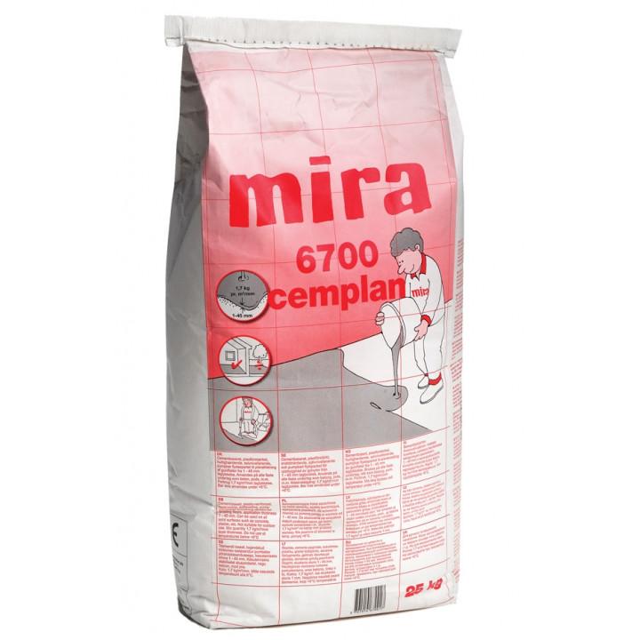 Самовыравнивающаяся смесь Mira 6700 cemplan