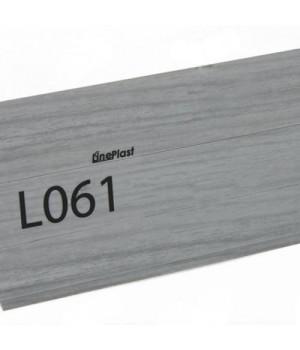 LinePlast Плинтус Дуб серый L061 2.5м