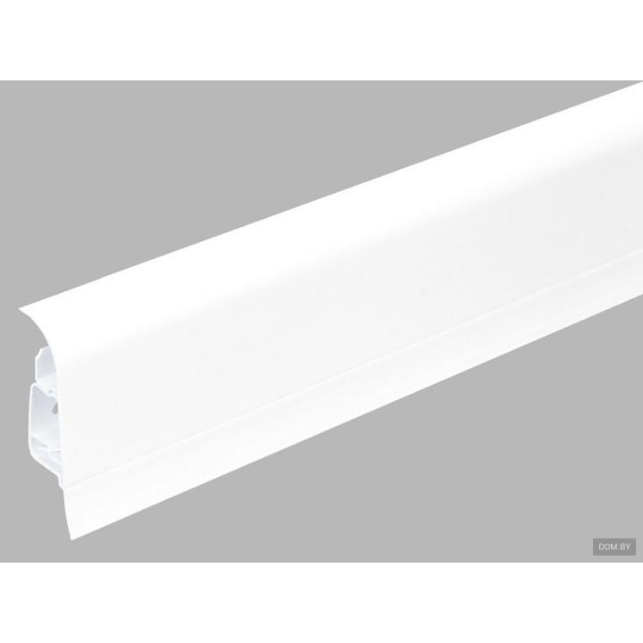 Arbiton Плинтус Indo Белый 01 (2.5м)