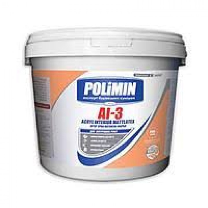 Полимин AF 1 краска акриловая фасадная 14 кг