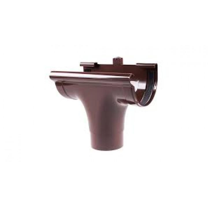 Ливнеприемник Profil (130/коричневый/проходной)