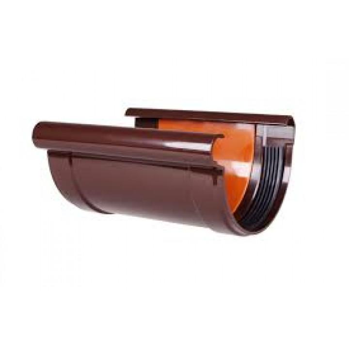 Соединитель желоба Profil (130/коричневый)