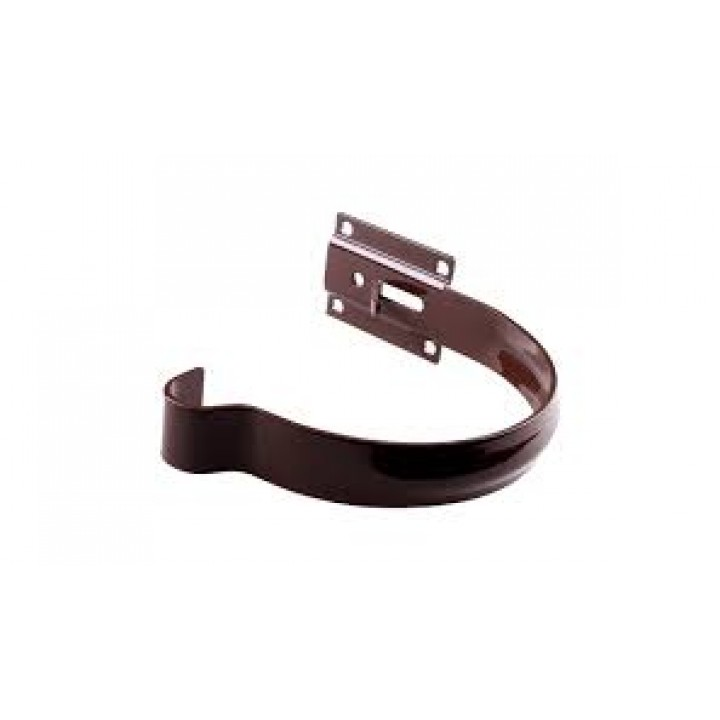 Держатель желоба металлический малый Profil (130/коричневый)