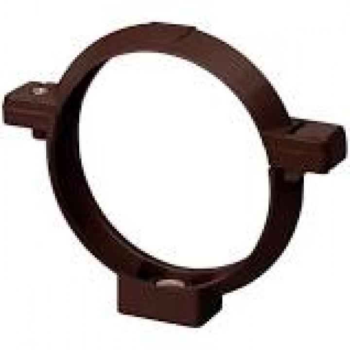 Кронштейн трубы RAINWAY (100мм/коричневый)