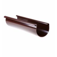 Желоб коричневый Технониколь (125мм/3м)