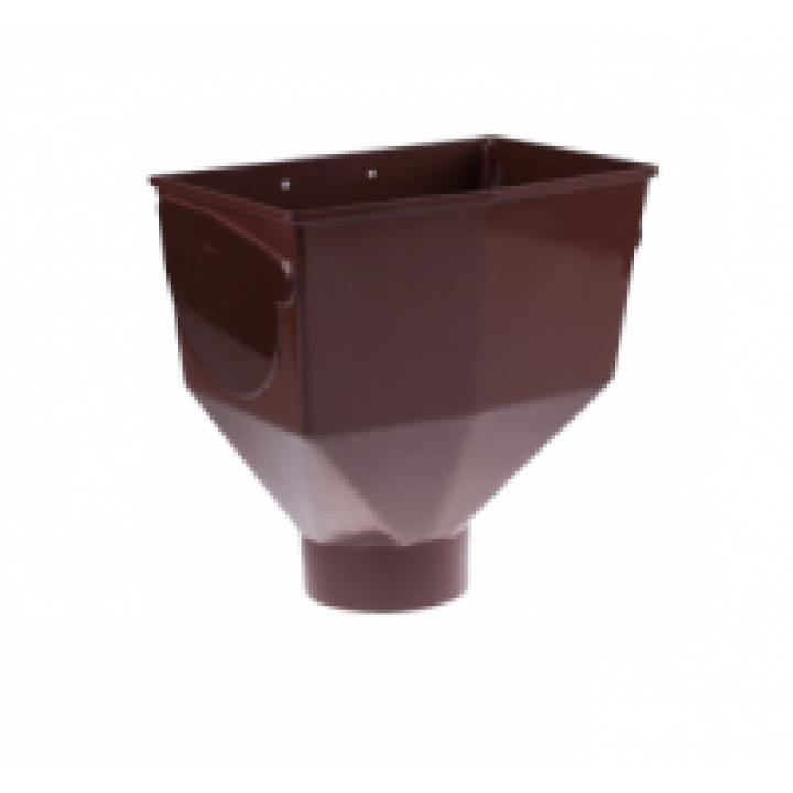 Лейка желоба коричневая Технониколь (125мм)