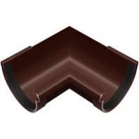 Угол желоба коричневый Технониколь (125мм/90°)