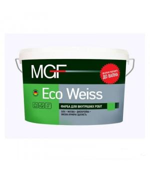 Краска акриловая матовая MGF ECO WEISS М1 (7кг.)