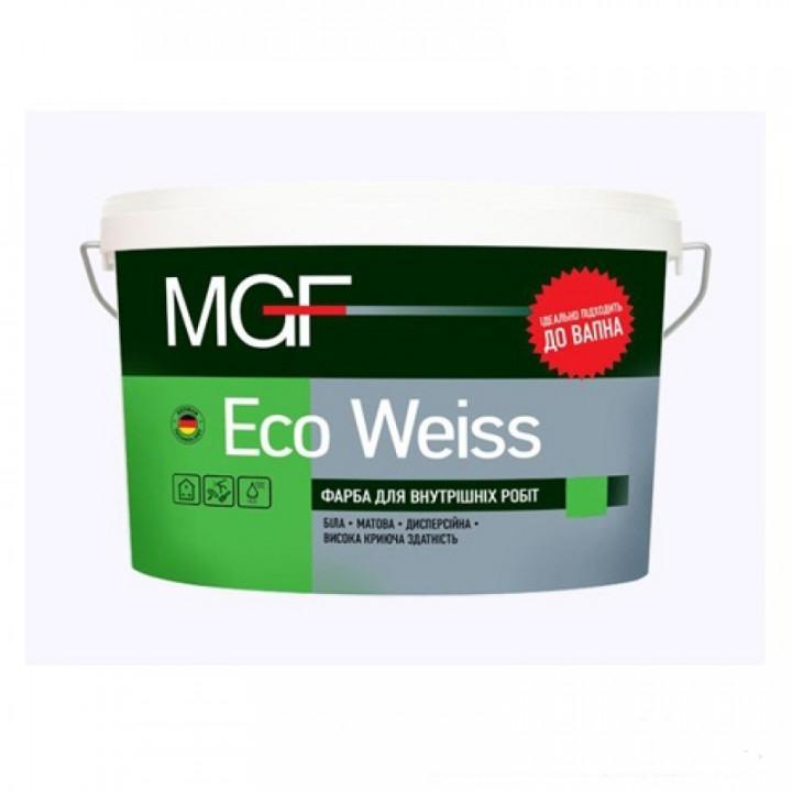 Краска акриловая матовая MGF ECO WEISS М1 (14кг.)
