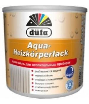 Эмаль для отопительных приборов DUFA Aqua-Heizkörperlack (2,5 л.)