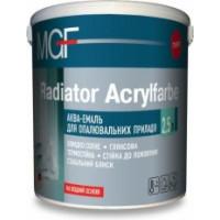 Аква-эмаль для отопительных приборов MGF Radiator Acrylfarbe (2,5 л.)