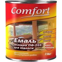 Эмаль Комфорт (Comfort) ПФ-266 желто-коричневая (2,8кг.)
