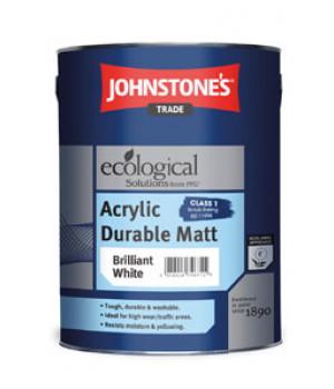 Краска сверхпрочная полуматовая JOHNSTONE'S (Джонстоунс) Acrylic Durable Matt (5кг)