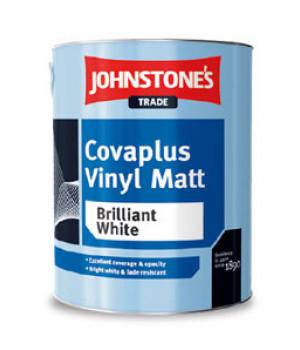 Краска водоэмульсионная матовая JOHNSTONE'S (Джонстоунс) Covaplus Vinyl Matt (5кг)