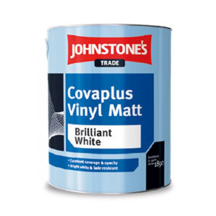Краска водоэмульсионная матовая JOHNSTONE'S (Джонстоунс) Covaplus Vinyl Matt (10кг)