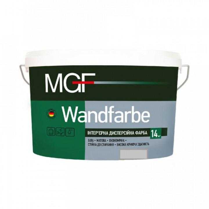 Краска дисперсионная матовая MGF Wandfarbe М1a (14кг)